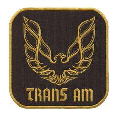 Trans Am Vintage Style XL Patch 15cm x 15cm