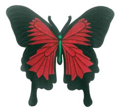 Butterfly Patch XXL Extra Large 30cm Badge