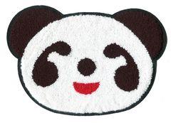 Panda Bear Patch Extra Large XXL Chenille 26.5cm