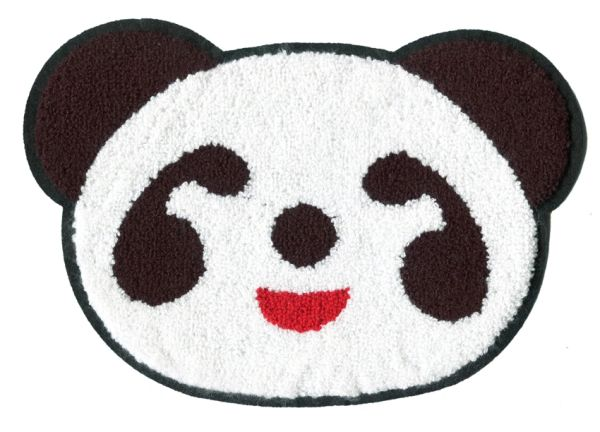 Panda Bear Patch Extra Large XXL Chenille 26.5cm