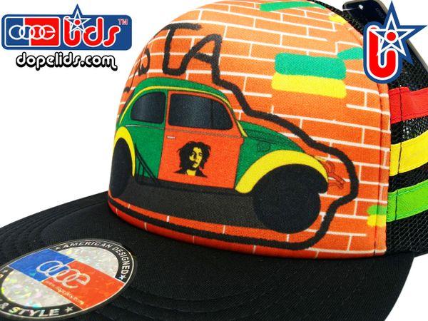 smARTpatches Truckers Rasta Graffiti Skater Trucker Hat