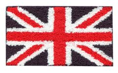 Chenille Union Jack British Patch XL (18cm)