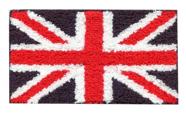 Chenille Union Jack British Patch XL (18cm)