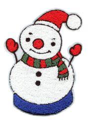 Snowman Patch Christmas Extra Large XXL 23cm