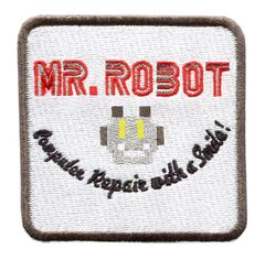 Mr. Robot Patch fsociety 8.5cm (Something Different- Square)