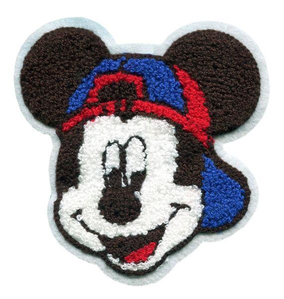 Mouse Chenille Patch (14cm)