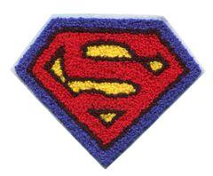 Superman Chenille Patch Large (14cm x 11cm)