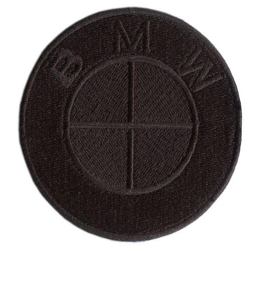 BMW Patch Triple Black 8cm