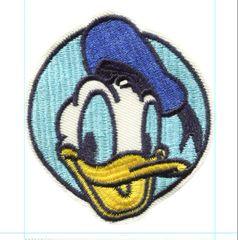 Donald Duck Patch Vintage Style 7cm