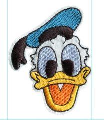 Donald Duck Patch Vintage Style 8cm