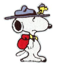Extra Large Chenille Snoopy Scout Dog Patch (21cm)
