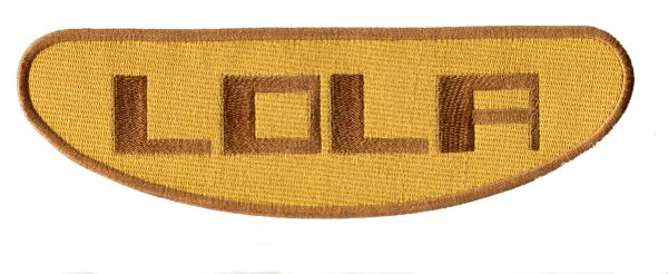 Lola Racing Patch XL 10 inch (2 Sizes Available)