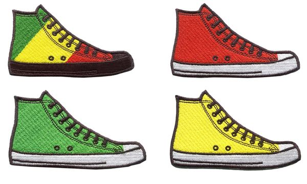 Vintage Style Hi Top Basketball Star Sneaker Shoe 9.5cm All Colors Available Inside