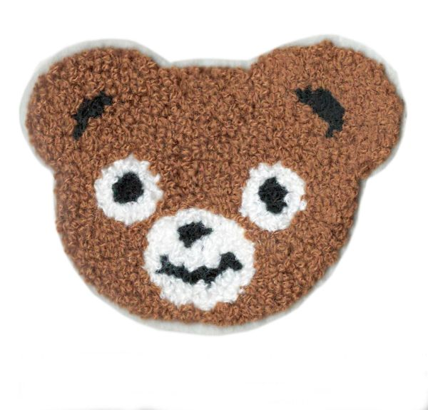 Bear Patch Chenille 11cm