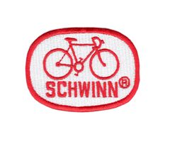 Schwinn Patch Vintage Style 70's 7cm
