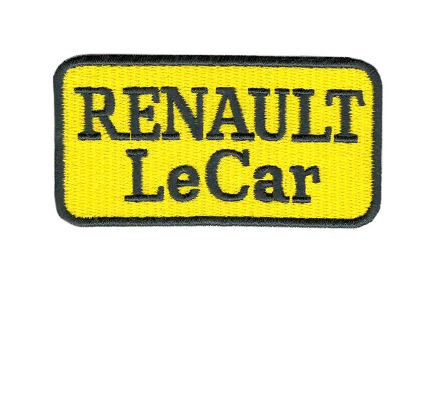 Renault Le Car Patch Vintage Style 7.5cm