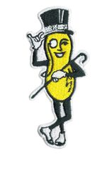 Mr. Peanut Patch Vintage Style 8.5cm