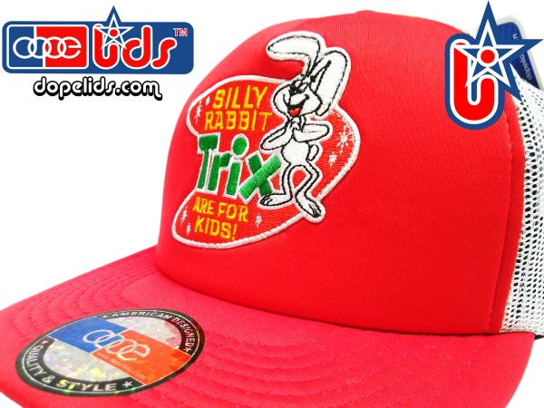 smartpatches Truckers Trix Cereal Vintage Style Trucker Hat