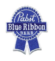 Vintage Style Pabst Blue Ribbon PBR Beer Patch 8cm