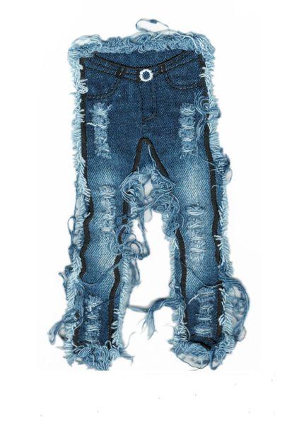 Denim Jeans Patch 20cm