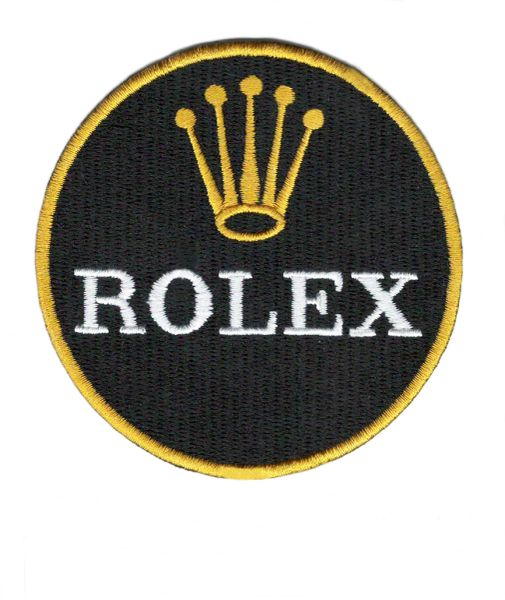 Rolex Patch Round Iron-On 8cm / 3.2 inch
