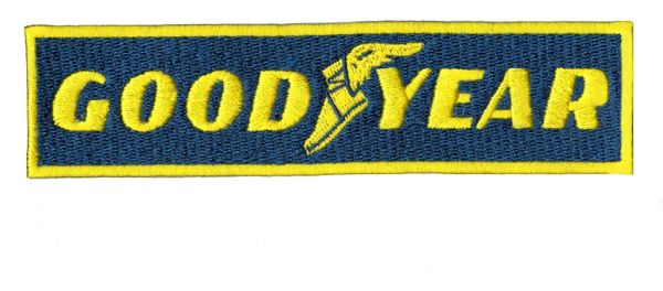 Vintage Style GOODYEAR Patch 13.5cm