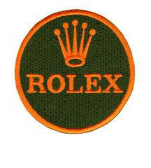 Rolex Patch Round Iron-On 8cm