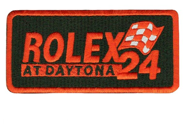 Vintage Racing Patch Iron-On 9.5cm / 3.7 inch