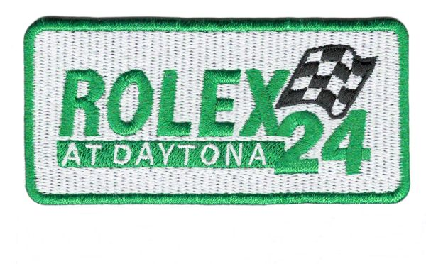 Rolex Racing Patch Iron-On 9.5cm / 3.7 inch