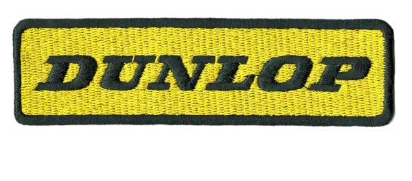 Dunlop Racing Patch 11cm