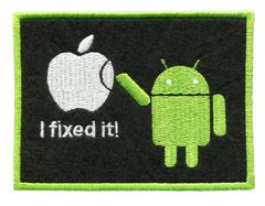 "Android ""I Fixed It"" Funny Patch 9.5cm"