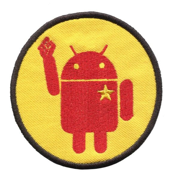 Android Revolution Patch 8.5cm