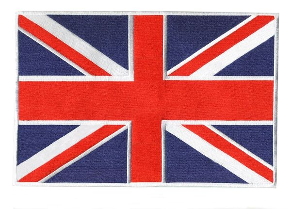 British Flag Union Jack Patch XXL 30cm