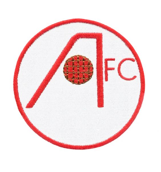 Vintage Style FC Football Club Patch 8cm