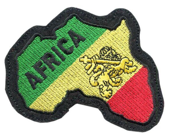 Africa Rasta Patch 11cm x 10cm