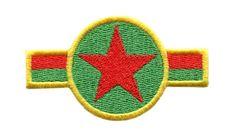 Jamaica Rasta Air Force Star 8cm x 4cm