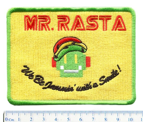 Mr. Rasta Robot Patch fsociety 10cm (Something Different)