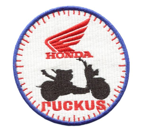 Honda Ruckus Patch Blue 8cm