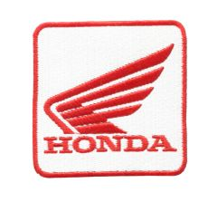 Honda Wing Motorcycle Patch 8cm x 8cm
