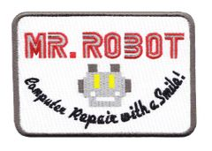 Mr. Robot Patch fsociety (10cm x 7.6cm) (4 inches x 3 inches) (Pack of 5)