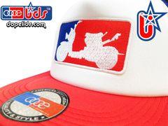 """smARTpatches Truckers """"Major League Ruckus"""" Honda Trucker Hat"""