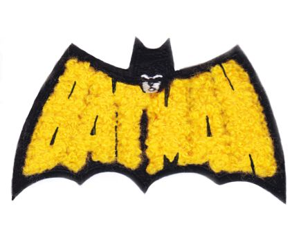Chenille Batman Patch 9cm