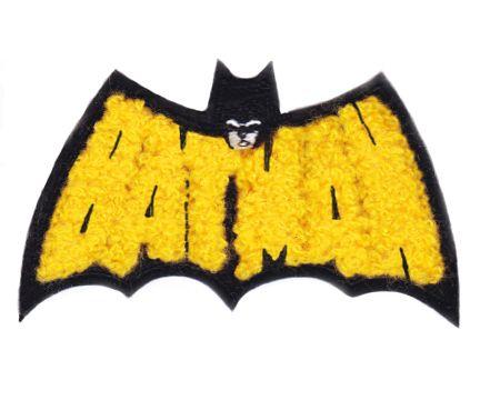 Chenille Batman Patch 9cm