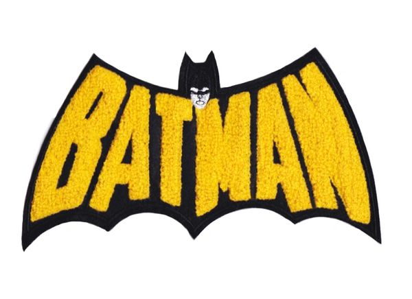 Chenille Batman Patch 23cm
