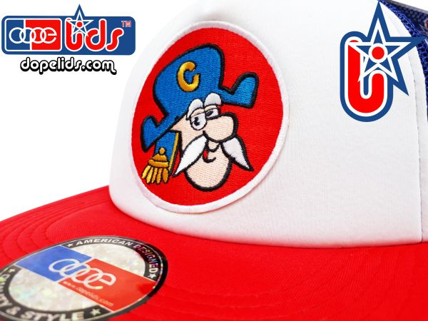smARTpatches Truckers Capn' Crunch Cereal Trucker Hat