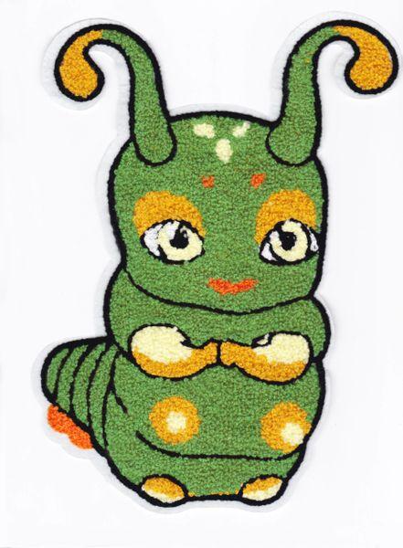 Chenille Caterpillar XXL Patch 27.5cm