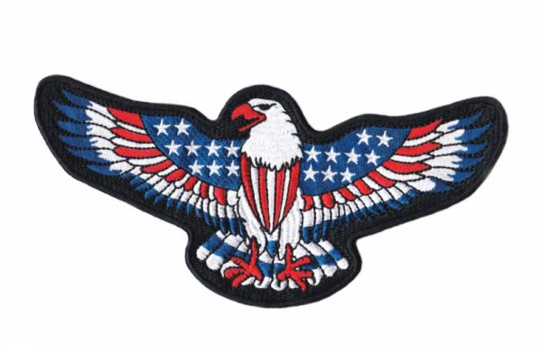 XL American Eagle Patch Biker Motorcycle USA Patch 20cm