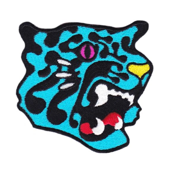 Blue Panther Patch 8cm
