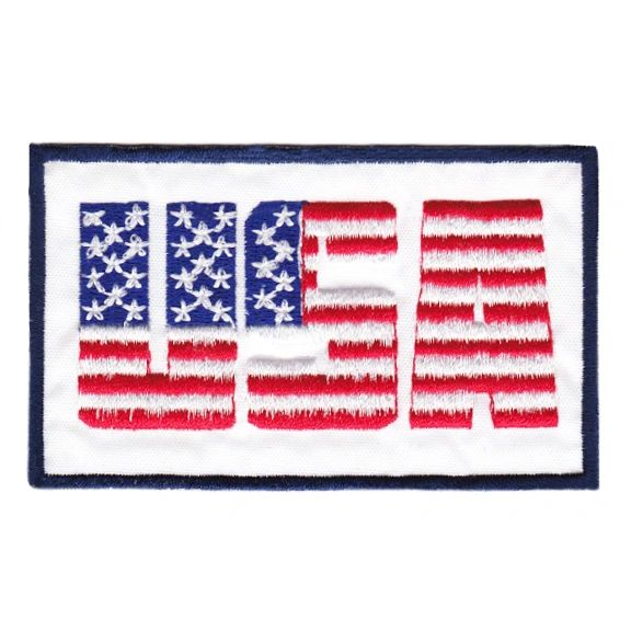 Vintage Style USA American Flag Patch 9cm