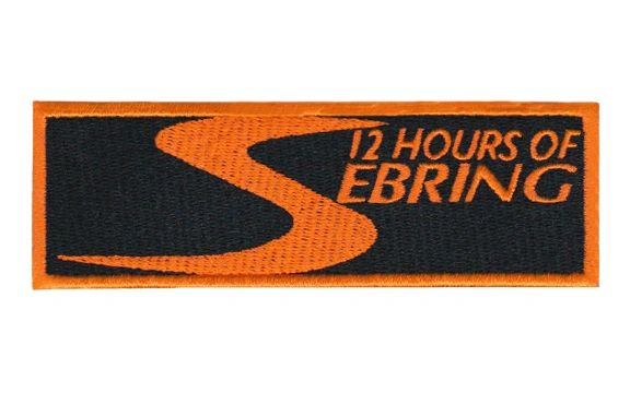 Sebring Racing Patch 12cm